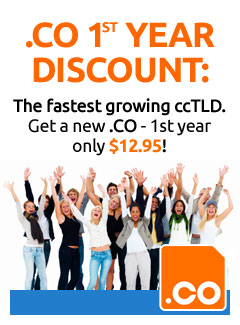 .CO 1st Year Discount
