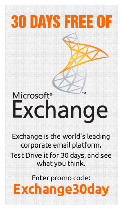 30 Days FREE of Microsoft Exchange